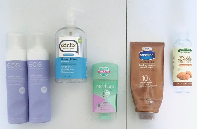 bath and body empties 2